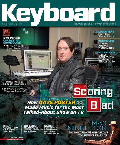 Keyboard - August 2014 - Dave Porter - NewBay Media Online Store