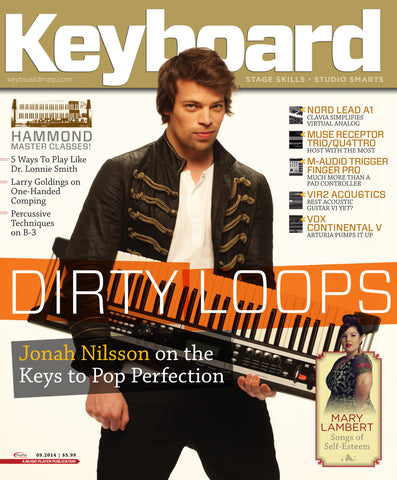 Keyboard - September 2014 - Jonah Nilsson - NewBay Media Online Store