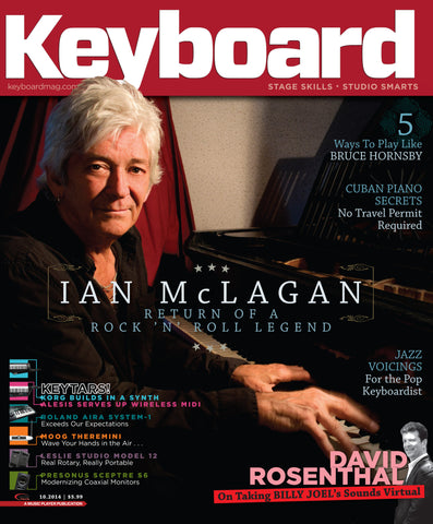 Keyboard - October 2014 - Ian McLagan - NewBay Media Online Store