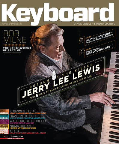 Keyboard - November 2014 - Jerry Lee Lewis - NewBay Media Online Store
