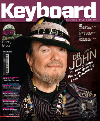 Keyboard - December 2014 - Dr. John - NewBay Media Online Store