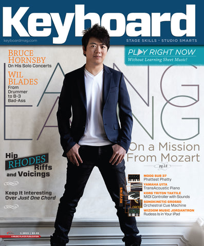 Keyboard - January 2015 - Lang Lang - NewBay Media Online Store