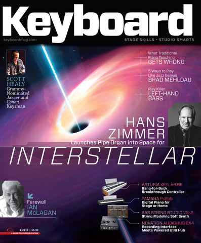 Keyboard - February 2015 - Hans Zimmer - NewBay Media Online Store