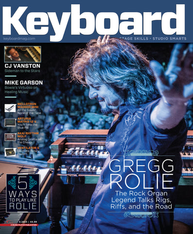 Keyboard - March 2015 - Gregg Rolie - NewBay Media Online Store