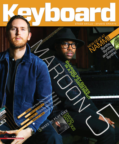 Keyboard - April 2015 - Maroon 5 - NewBay Media Online Store