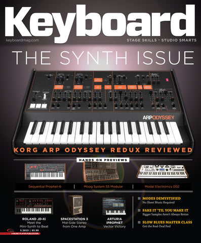 Keyboard - May 2015 - The Synth Issue - NewBay Media Online Store