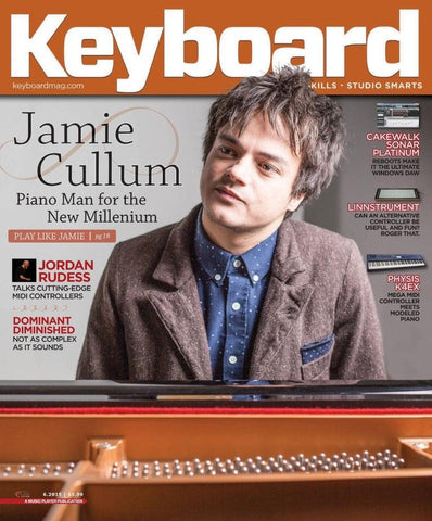 Keyboard - June 2015 - Jamie Cullum - NewBay Media Online Store