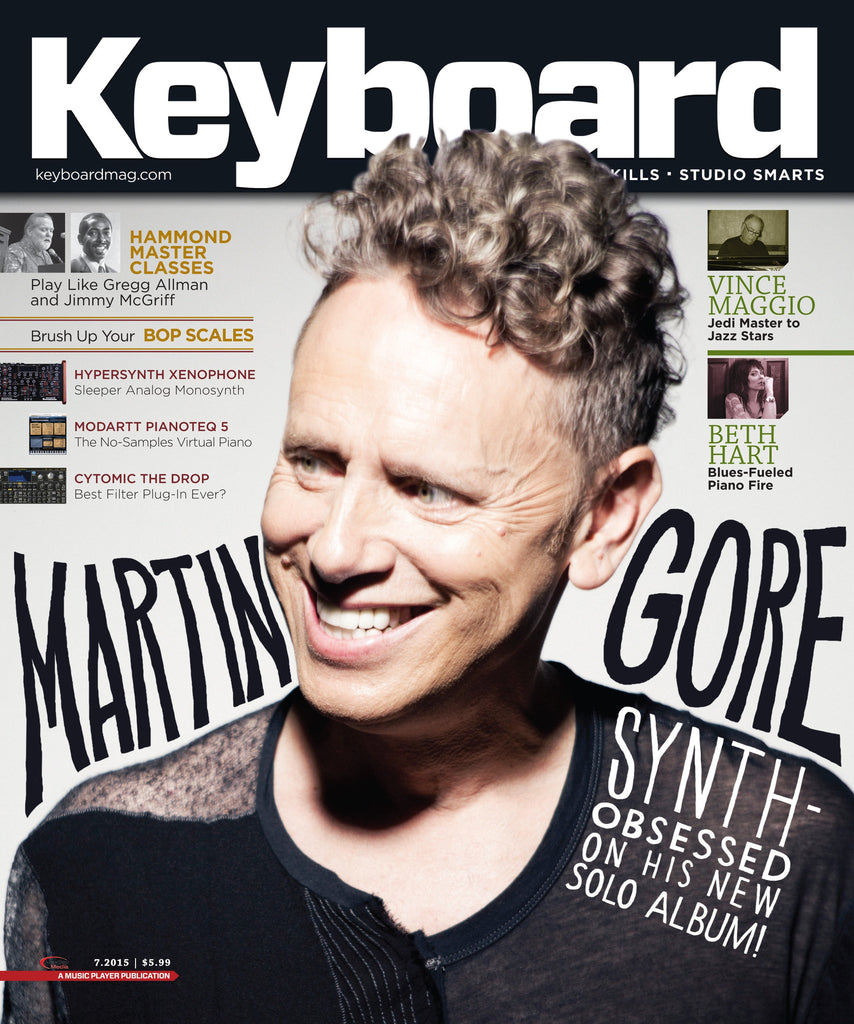 Keyboard - July 2015 - Martin Gore