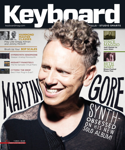 Keyboard - July 2015 - Martin Gore - NewBay Media Online Store