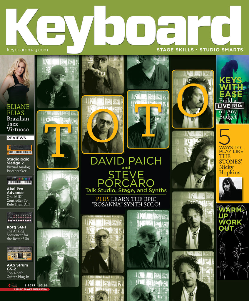Keyboard Magazine - August 2015 - David Paich and Steve Porcaro