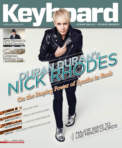 Keyboard - September 2015 - Duran Duran's Nick Rhodes - NewBay Media Online Store