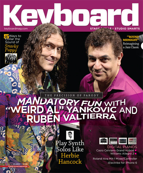 Keyboard Magazine - December 2015 - The Precision of Parody - NewBay Media Online Store