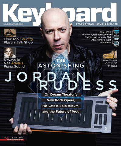 Keyboard Magazine - March 2016 - The Astonishing Jordan Rudess - NewBay Media Online Store