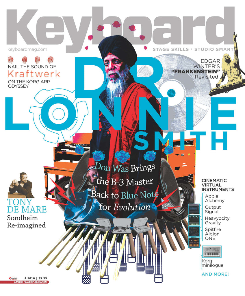 Keyboard Magazine - April 2016 - Dr. Lonnie Smith