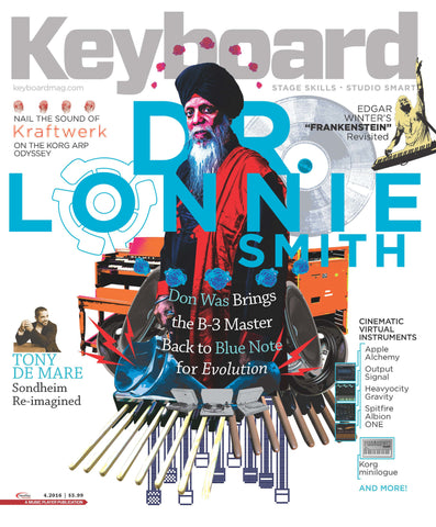 Keyboard Magazine - April 2016 - Dr. Lonnie Smith - NewBay Media Online Store