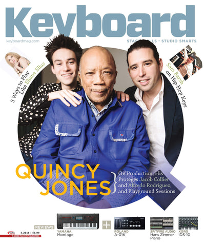 Keyboard Magazine - May 2016 - Quincy Jones