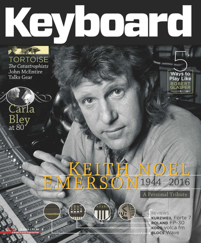 Keyboard Magazine - June 2016 - Keith Noel Emerson - NewBay Media Online Store