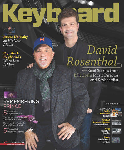 Keyboard Magazine - July 2016 - David Rosenthal - NewBay Media Online Store