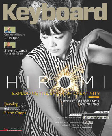 Keyboard Magazine - August 2016 - Hiromi - NewBay Media Online Store