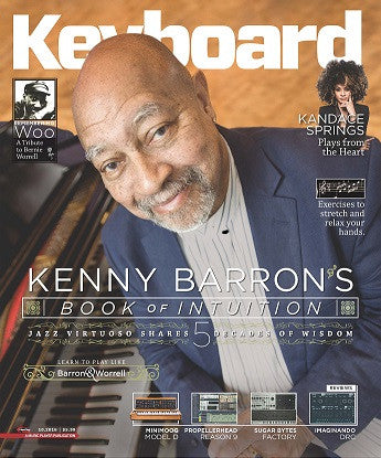Keyboard Magazine - October 2016 - Kenny Barron - NewBay Media Online Store