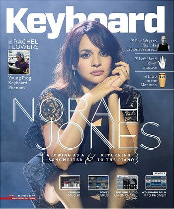 Keyboard Magazine - November 2016 - Norah Jones - NewBay Media Online Store