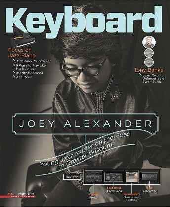 Keyboard Magazine - February 2017 - Joey Alexander