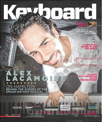 Keyboard Magazine - March 2017 - Alex Lacamoire