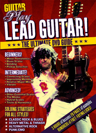 Play Lead Guitar for Beginners DVD