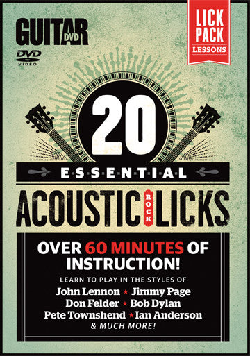 20 Essential Beginner Acoustic Rock Licks - NewBay Media Online Store