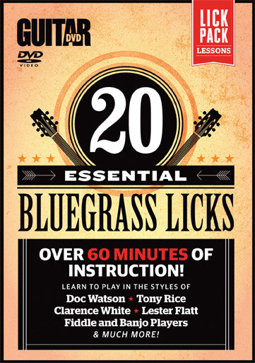 20 Essential Beginner Bluegrass Licks - NewBay Media Online Store