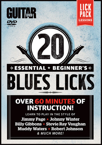 20 Essential Beginner Blues Licks - NewBay Media Online Store