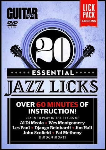 20 Essential Jazz Licks - NewBay Media Online Store
