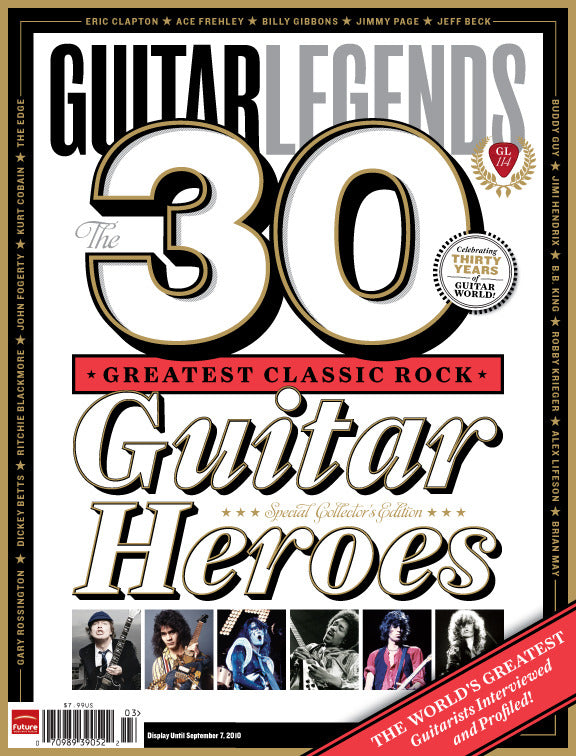 Guitar Legends - The 30 Greatest Classic Rock Guitar Heroes