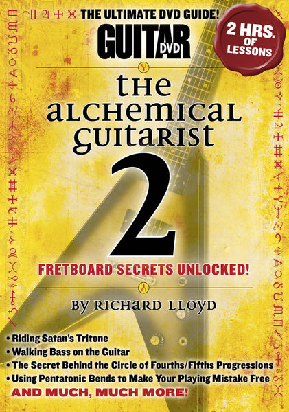 The Alchemical Guitarist 2 DVD