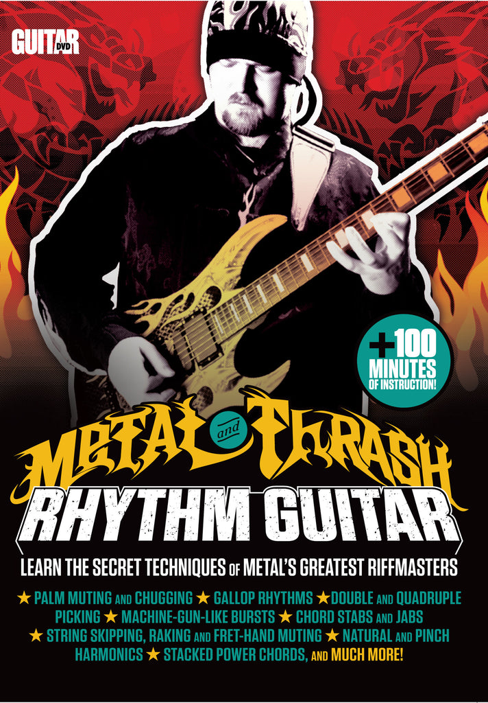 Metal and Thrash Rhythm Guitar