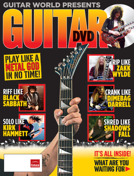 How to Play Hard Rock & Heavy Metal Guitar for Beginners DVD
