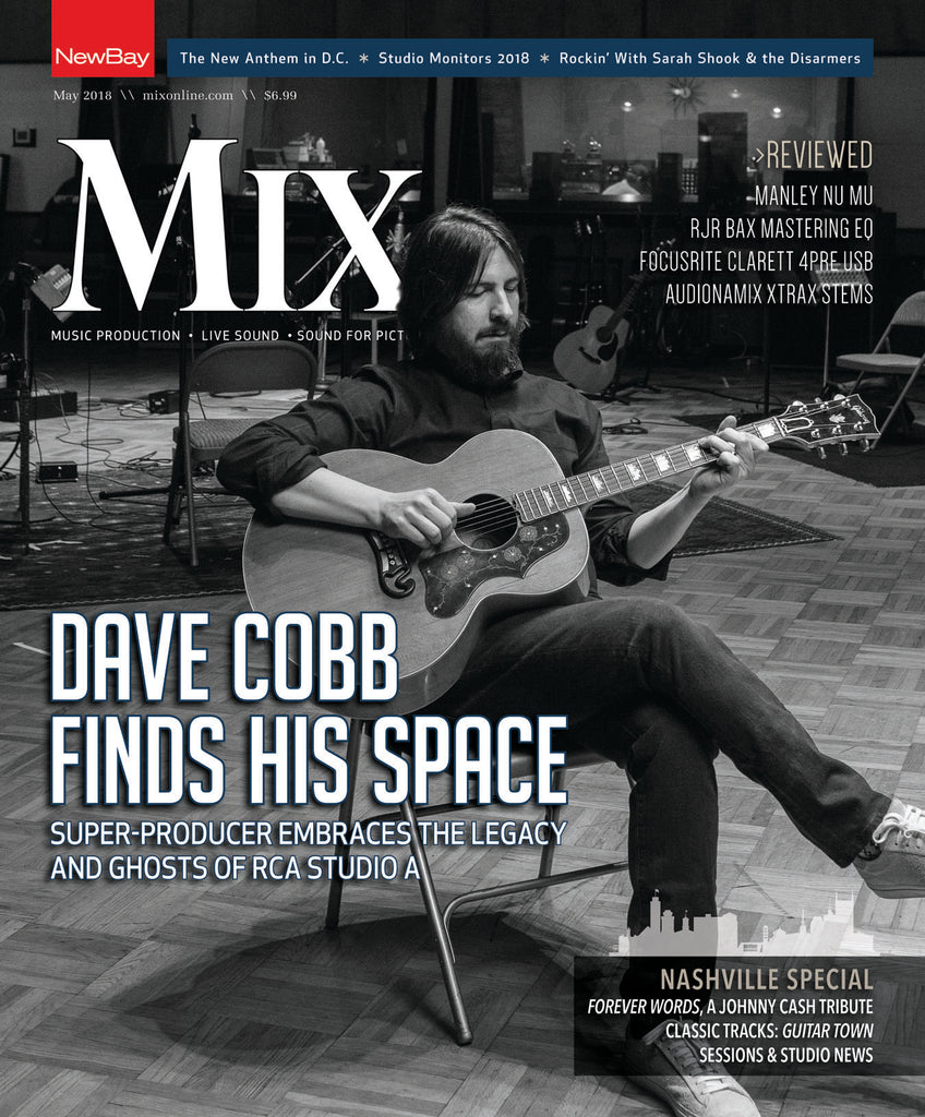 MIX - May 2018 - Producer Dave Cobb at Home in RCA Studio A - NewBay Media Online Store