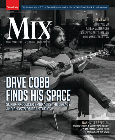 MIX - May 2018 - Producer Dave Cobb at Home in RCA Studio A