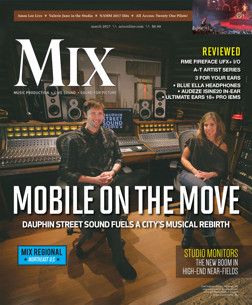 MIX - March 2017 - Mobile On The Move - Dauphin Street Sounds Fuel A City's Musical Rebirth