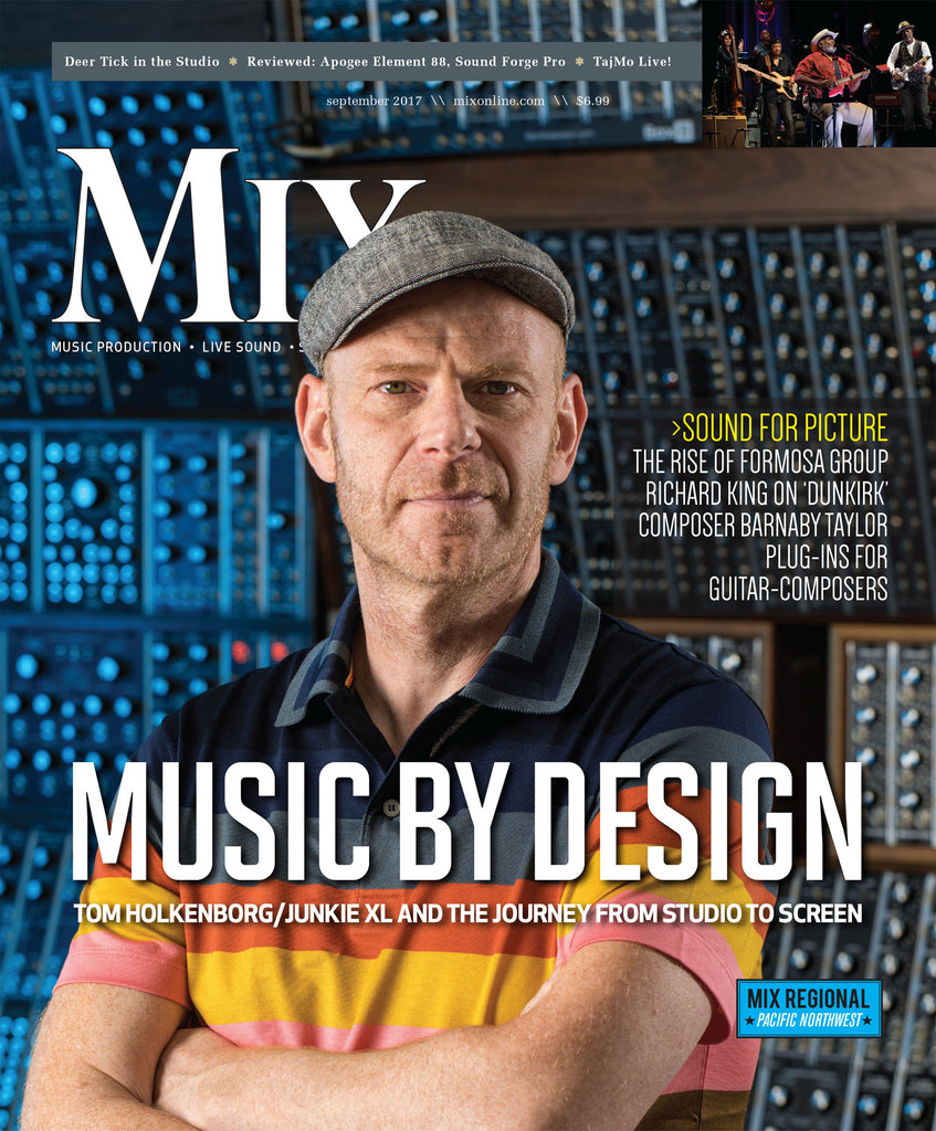 MIX - September 2017 - Music By Design - Tom Holkenborg/ Junkie XL and the Journey from Studio to Screen