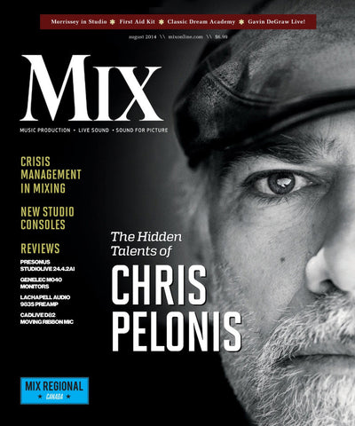 MIX - August 2014 - Chris Pelonis - NewBay Media Online Store