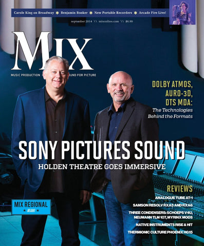 MIX - September 2014 - Sony Pictures Sound