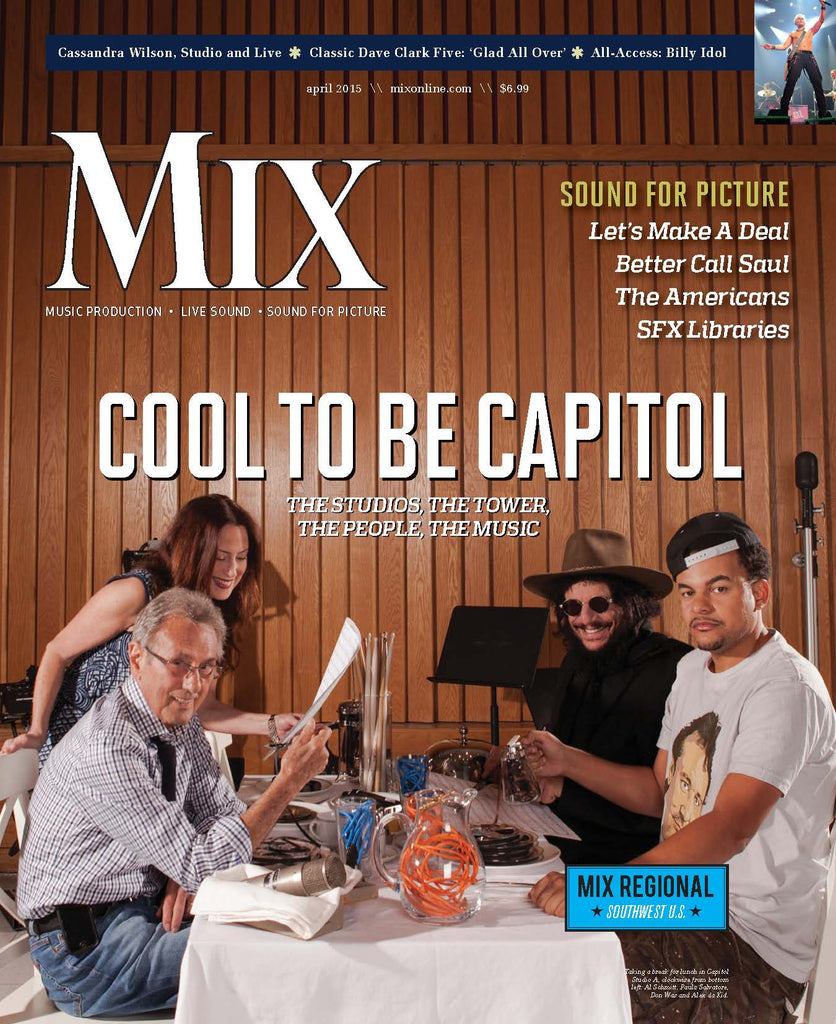 MIX - April 2015 - Cool to be Capitol