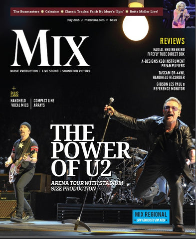 MIX - Jul 2015 - The Power of U2