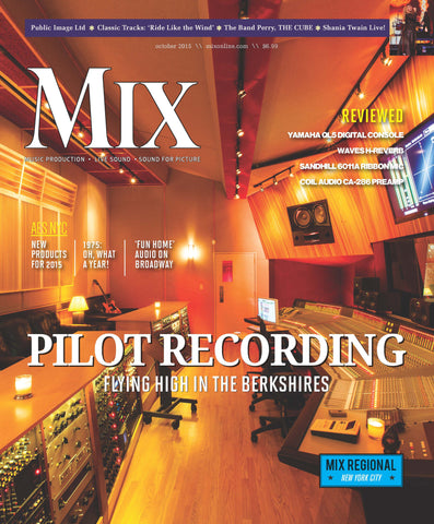 MIX - October 2015 - Pilot Recording