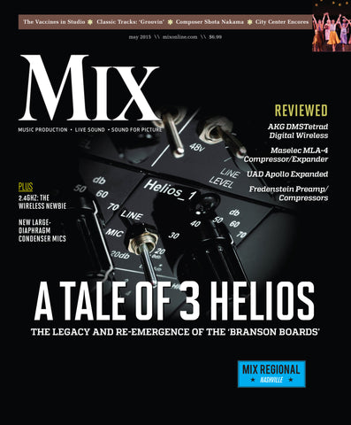 MIX - May 2015 - A Tale of 3 Helios