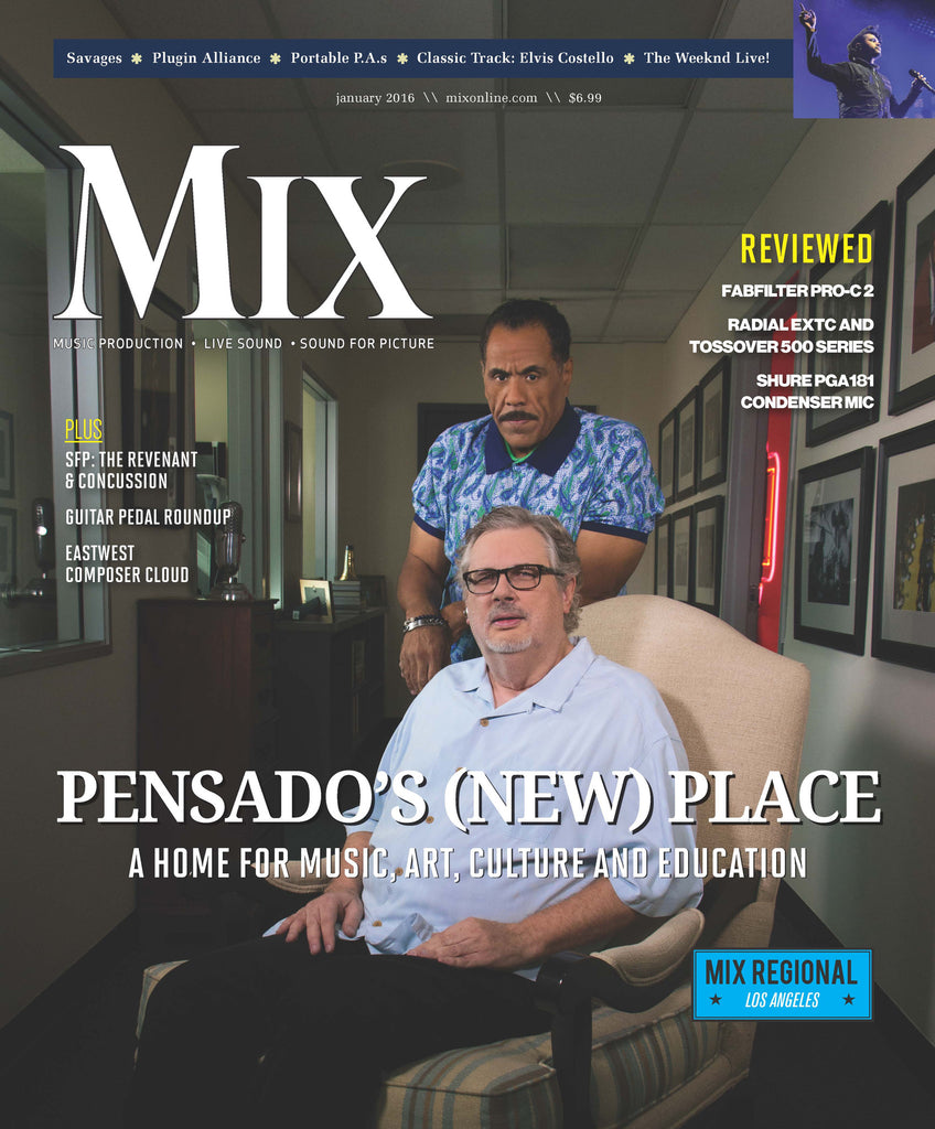 MIX-2016-1 - PENSADO'S (NEW PLACE): A HOME FOR MUSIC, ART, CULTURE AND EDUCATION