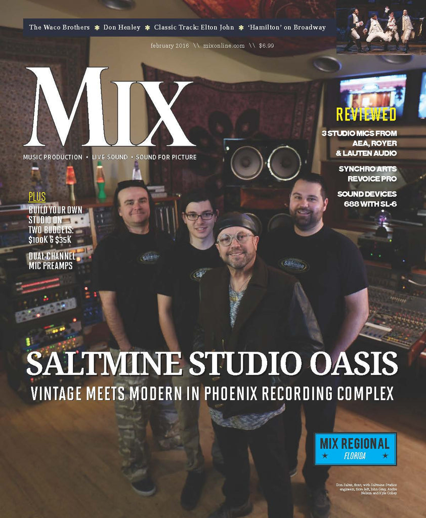 MIX - February 2016 - Saltmine Studio Oasis