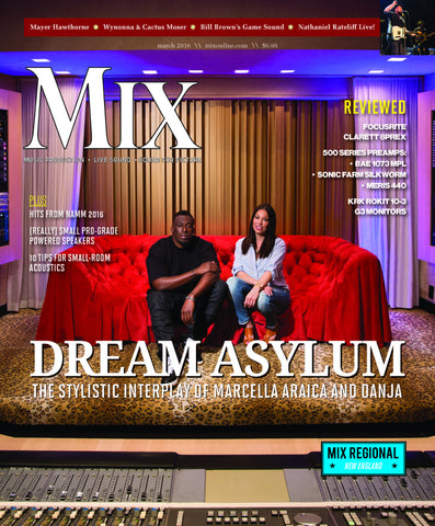 MIX - March 2016 - The Stylistic Interplay of Marcella Araica and Danja