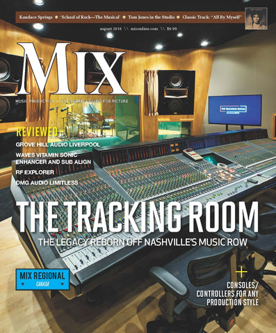 MIX - August 2016 - The Tracking Room